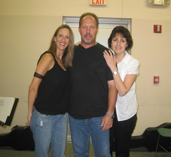 Kim Yarson, Al Lind and Barbara Harley, a team of songwriters that have worked together for 12 years