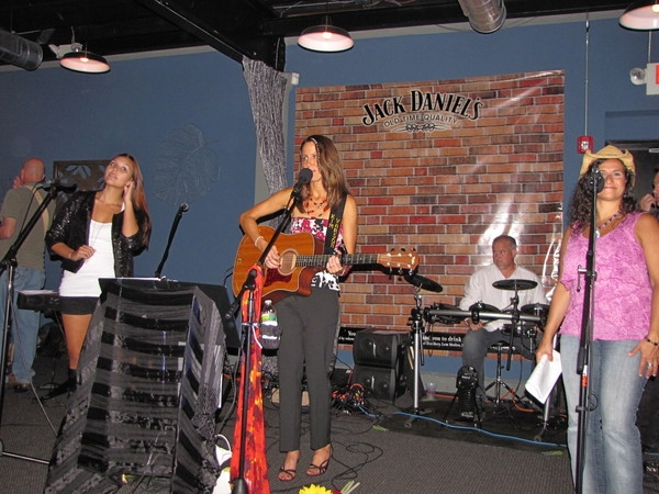 August 2011:  my CD Release party at Hamilton Manor