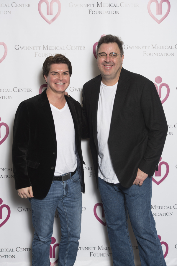 Stephen with Vince Gill