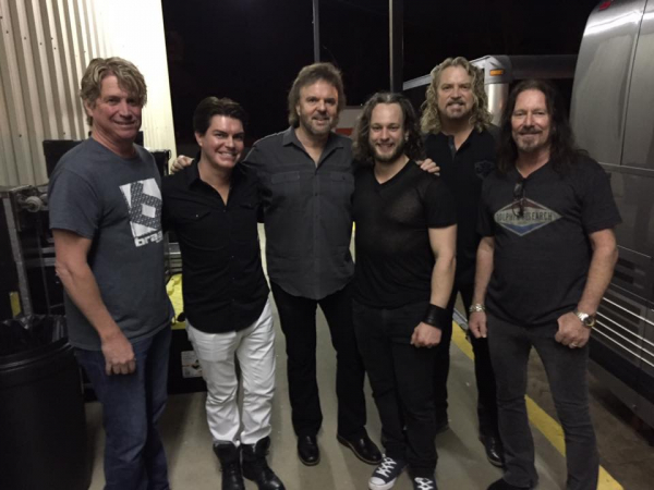 Stephen and Daniel Glozier with 38 Special