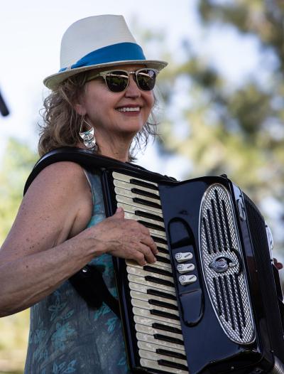 Catherine Teutsch at Denver Botanic Gardens