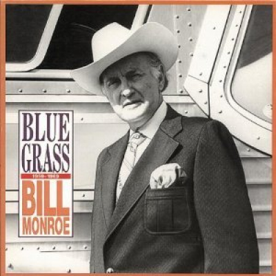 <p>Bill Monroe in front of his bus, which is now our bus </p>