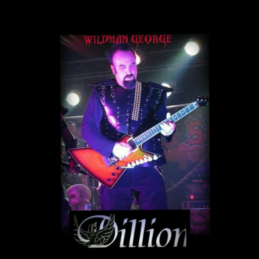 Wildman George Koerber with his latest endorsement The Dillon