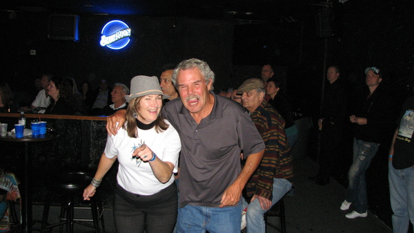 Kristin & John, two loyal Mojo Combo fans, booging to the beat of the blues at the SoCal Blues Society Battle of the Bands competition in Nov 2011