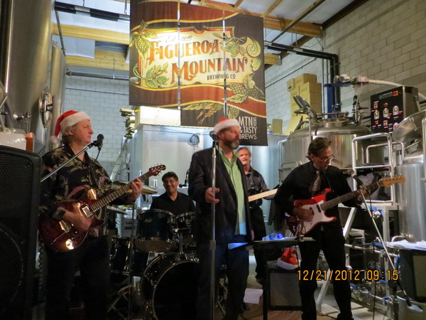 Figueroa Mountain Brewing Co in Buellton, CA on December 21, 2012