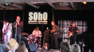 Santa Barbara Blues Society Battle of the Bands on October 6, 2012. The Mojo Combo takes 2nd place.
