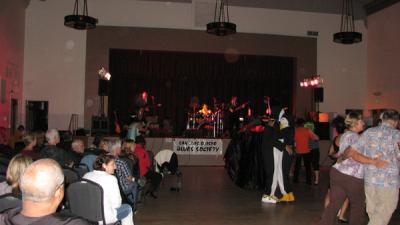 The Mojo Combo opening act at SLO Blues Society October 2011.