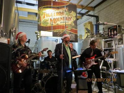 Figueroa Mountain Brewing Co in Buellton, CA on December 21, 2012