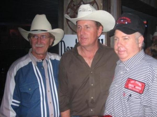 Billy, David Ball & Red Wheeler