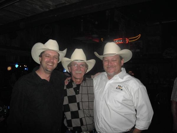Billy with Jim Nash & Mike Crow from 92.1 KTFW