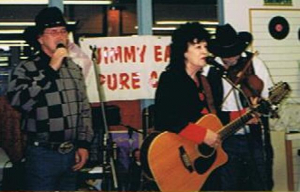 Billy, Leona Williams & Mark Abbott