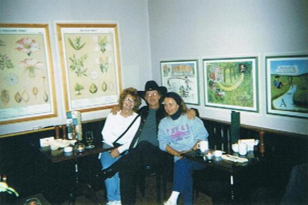 Diane Keeble, Billy, & Bente- Denmark 2000