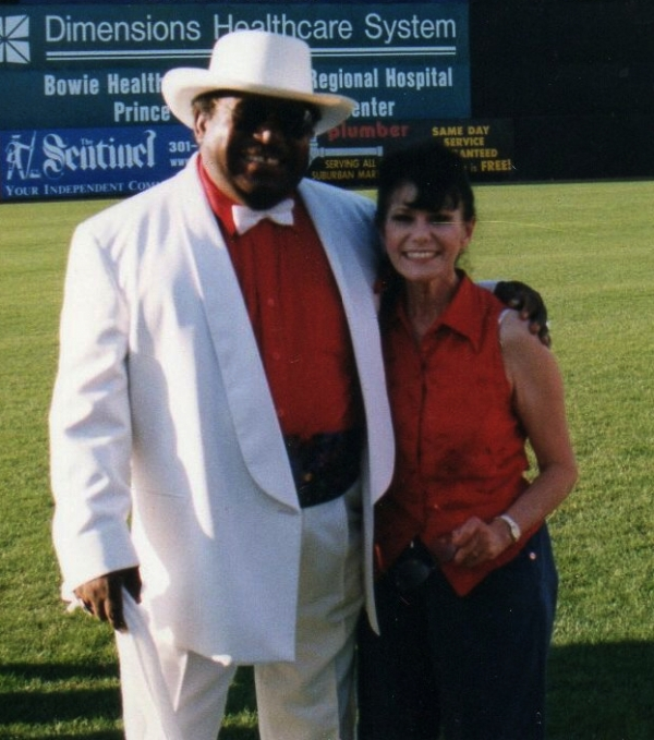 Ms Janie with Percy Sledge