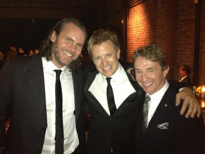 <p> myself, Jeff Babko, Martin Short , Babko-Lee wedding, Nov 2012</p>