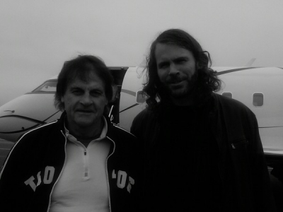 <p> tony la russa and i, PAWS benefit, 2010</p>