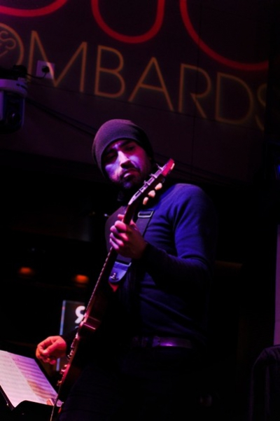 <p> Mike Severson (Bilal) Beat Music Paris 2010, photo by Summer Tran</p>