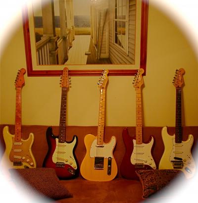 I play Fenders too....