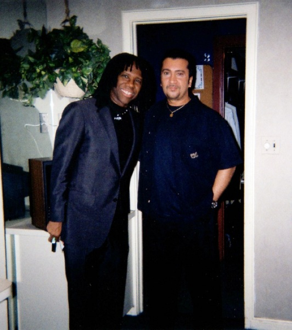 ONE OF MY FAVORITE GUITARISTS, NILE ROGERS OF CHIC