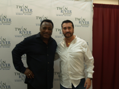 BACK STAGE WITH THE MAN, THE LEGEND, MR. GEORGE BENSON