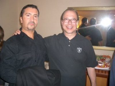 WITH MY FRIEND EMILIO CASTILLO OF TOWER OF POWER
