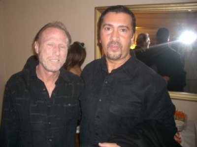 WITH A TRUE FUNK MEISTER, ROCCO FRANCIS PRESTIA OF TOWER OF POWER