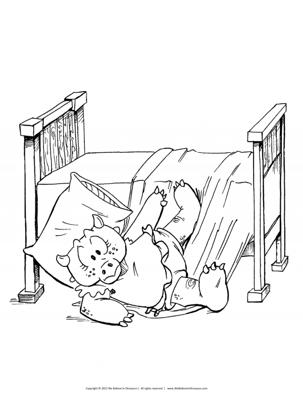 coloring page four