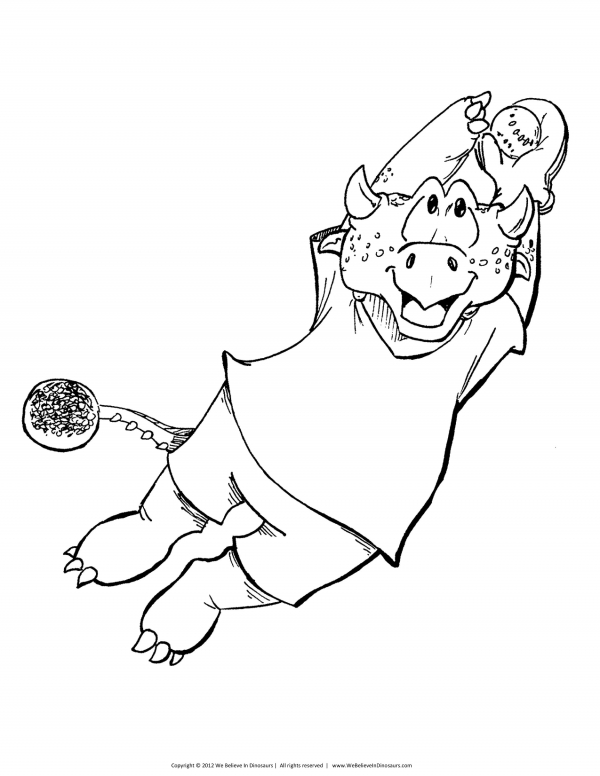 coloring page five
