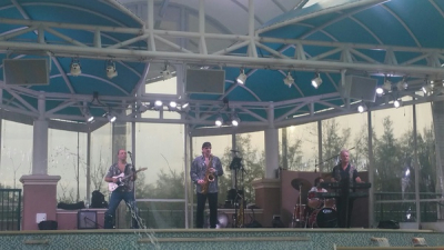 Me and my band, Harbourside Place Jupiter