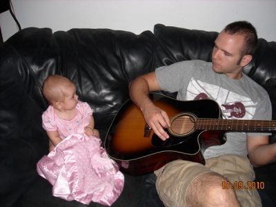 "<p>Shane at home Teaching the New BNB Babe ""EMMA"" some hot new licks on the guitar.  She said she is ready for the stage as long as she can take her blanket with her..</p>"