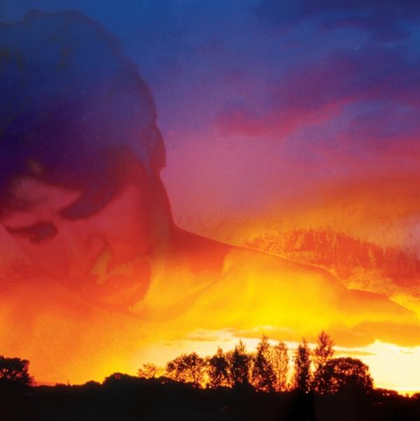 Album Jacket - Inside Panel. Arthur, Cape Hattaras, NC in a Taos, NM thunderstorm sunset.