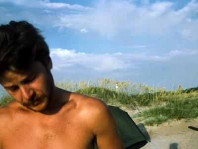 Cape Lookout, North Carolina, USA. July 1986