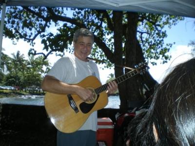 Live at the beach park, November, 2009, Aloha Aina, Hawai'i