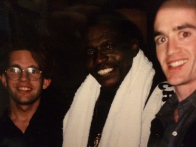 Chris and I w/ Elvin Jones - Jazz Showcase, Chicago, 1994