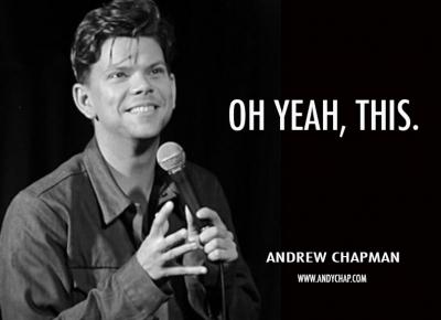 Comedy Album - Buy it on my site!
