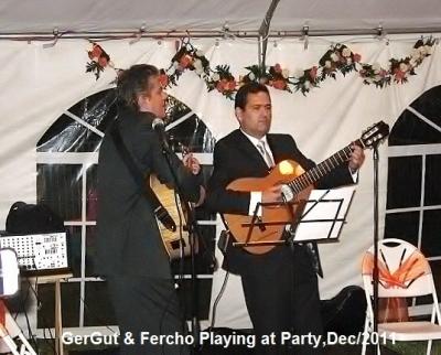 GerGut & Fercho Playing In A Gig Fort Lauderdale, Fl, Dec 3 / 2011