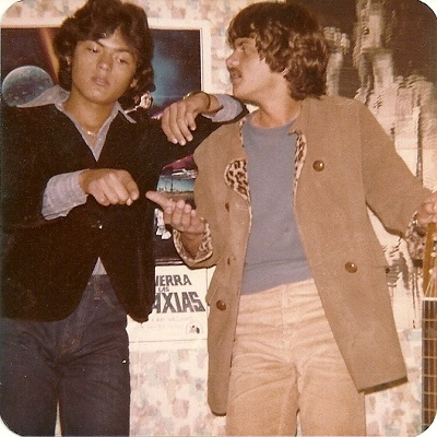 Fercho & GerGut Back In 1975 When They Began Playing Music