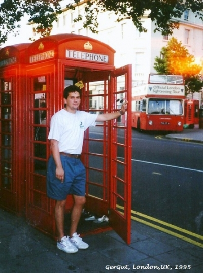 GerGut In London July 1995 Tour of
