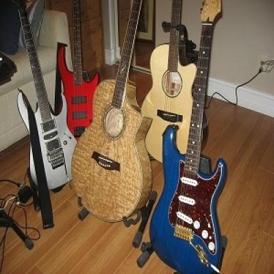 GerGut Guitars & Bass Used for