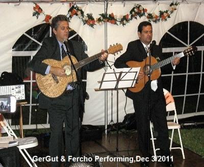 GerGut & Fercho Performing at Party Fort Lauderdale, Fl, Dec 3 / 2011