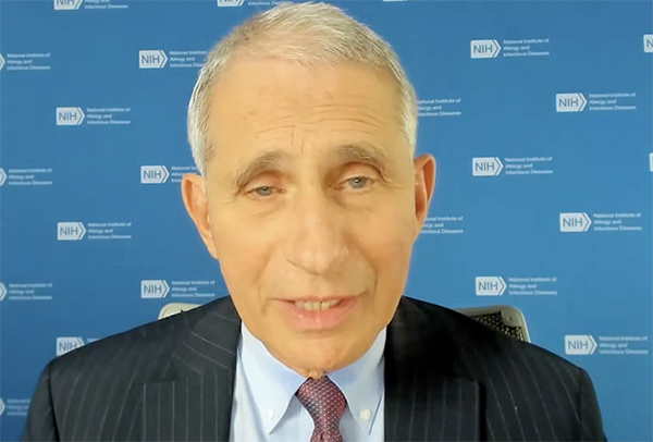 Fauci Updates Healthcare Professionals on COVID-19 During IDWeek 2020