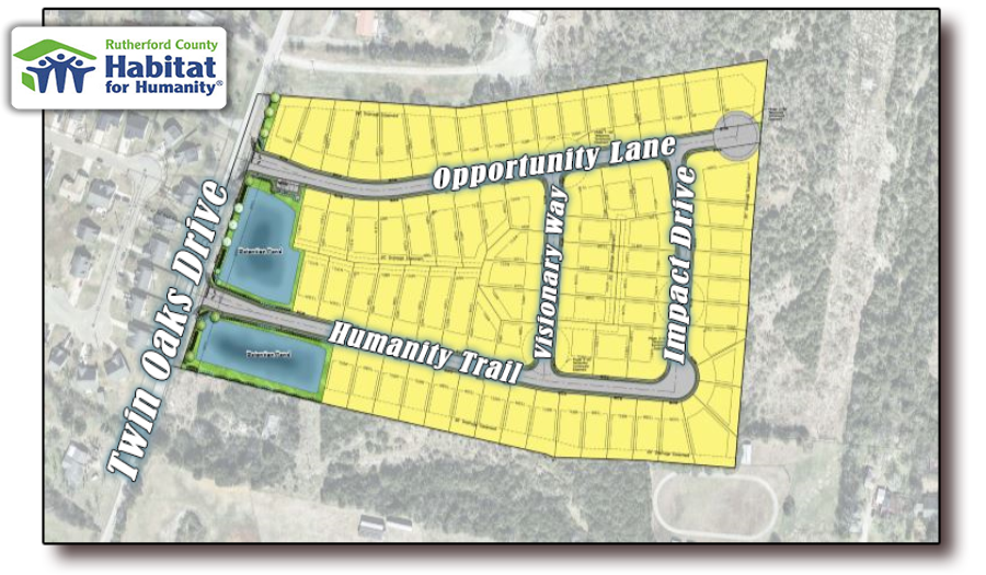 MORE DETAILS: Area's First Habitat for Humanity Subdivision - 77 Affordable Homes