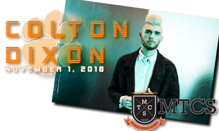 Colton Dixon to be honored as the MTCS Alumnus of the Year at the 58th Annual Steak Dinner