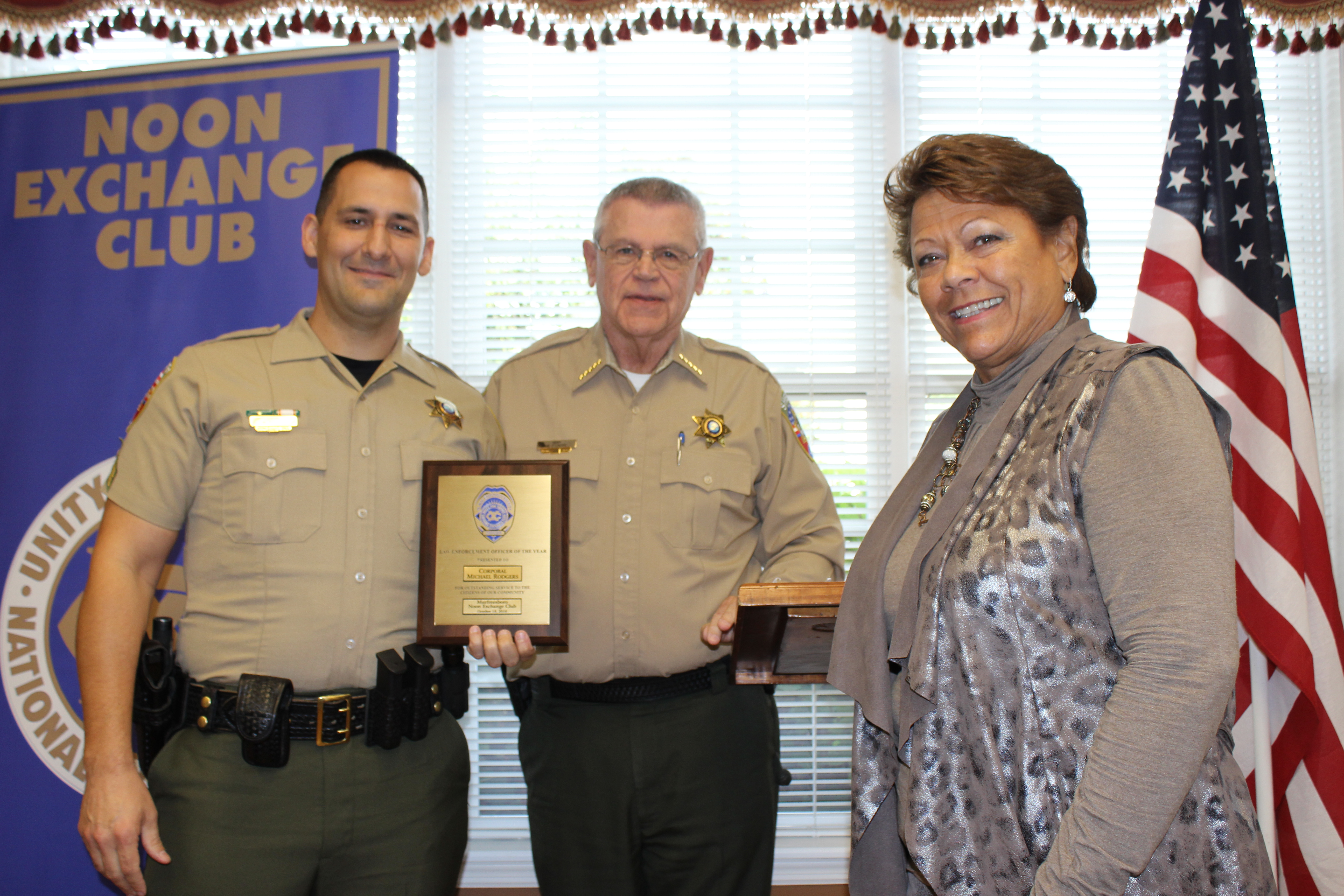Murfreesboro Noon Exchange Club's Officer of the Year