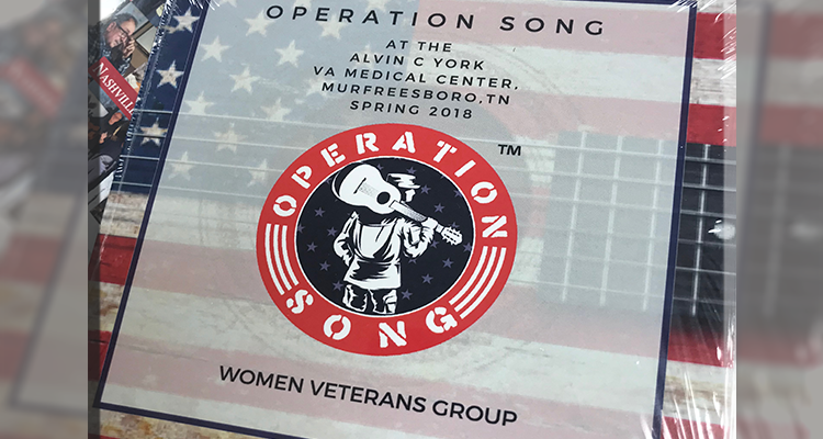 Operation Song is helping local Veterans in Murfreesboro in a non traditional way