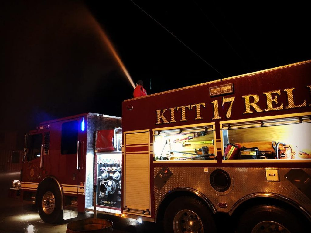 Kittrell Volunteer Fire Dept. Resuming Ham Breakfast Fundraiser