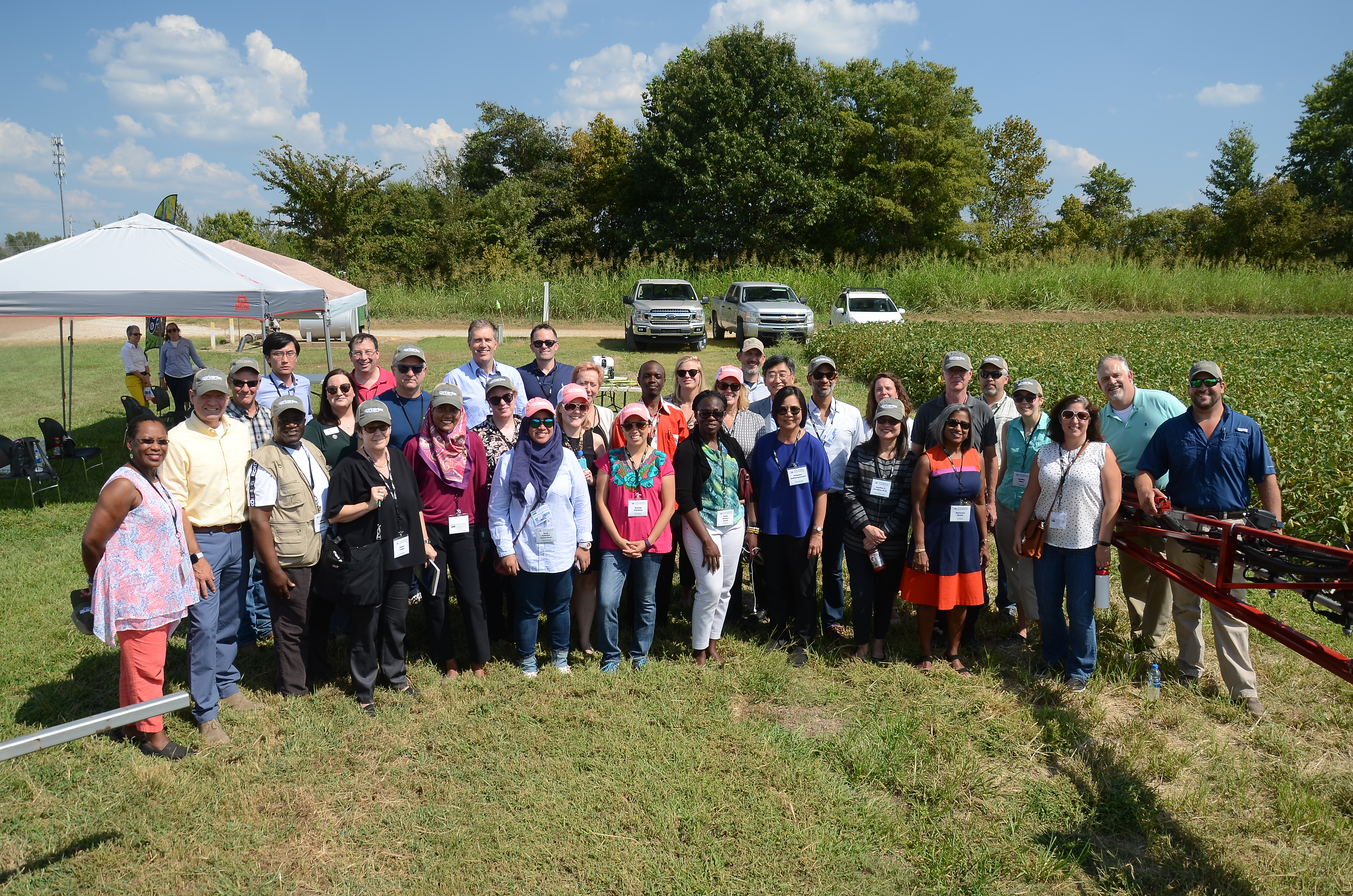 Foreign Delegates Tour TN's Ag Industry