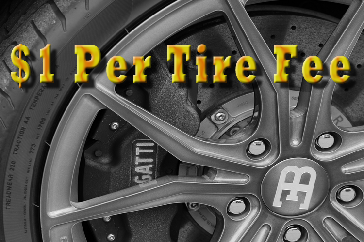$1 Per Tire Fee Collected in Rutherford County - Where is the Money