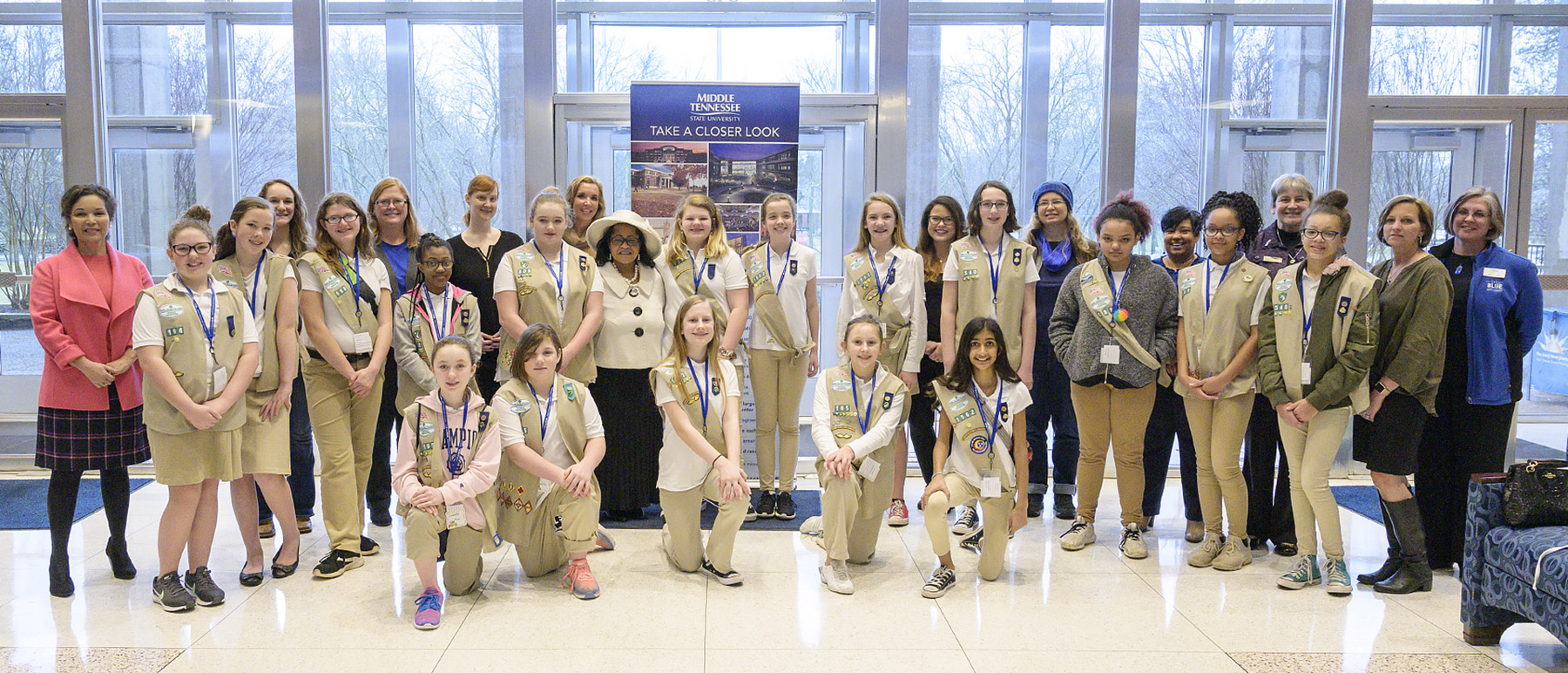 MTSU welcomes Girl Scouts to campus for career mentoring