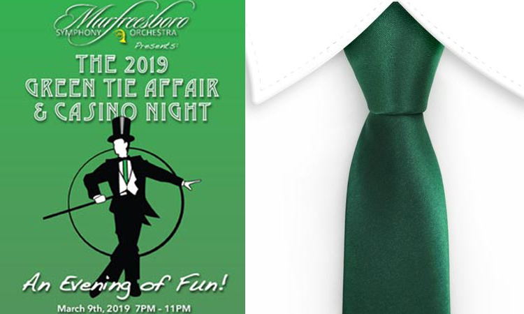 Green Tie Affair with the Murfreesboro Symphony