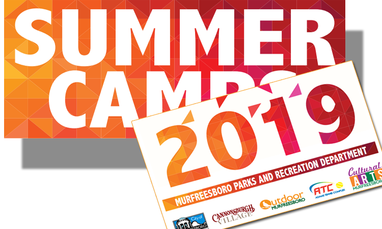 Register for Summer Camps in Murfreesboro March 1st